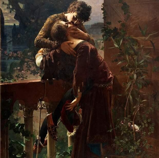 «Целуй меня, целуй...» : Картины художников разных времен, увековечившие трепетность и нежность поцелуев