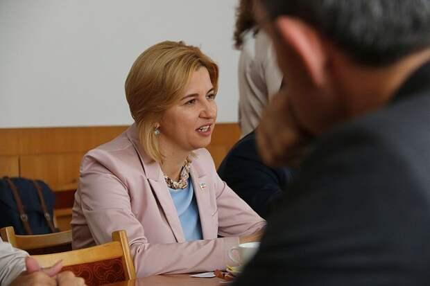 Ирина Фёдоровна Влах, нынешний башкан Гагаузии