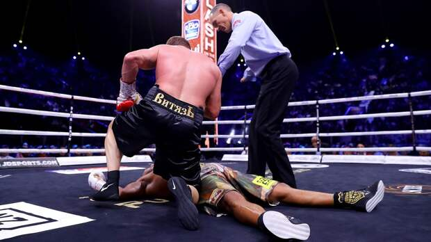 Поветкин — Уайт: видео нокаута в исполнении 40-летнего русского боксера