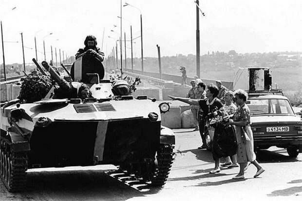 Захват русской воинской части: как началась война в Приднестровье