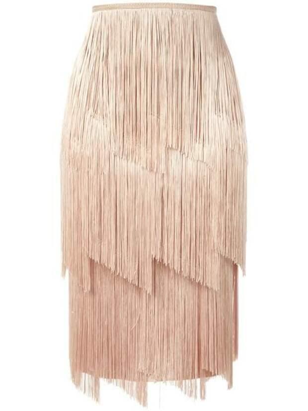 Необычные юбки с бахромой (подборка)