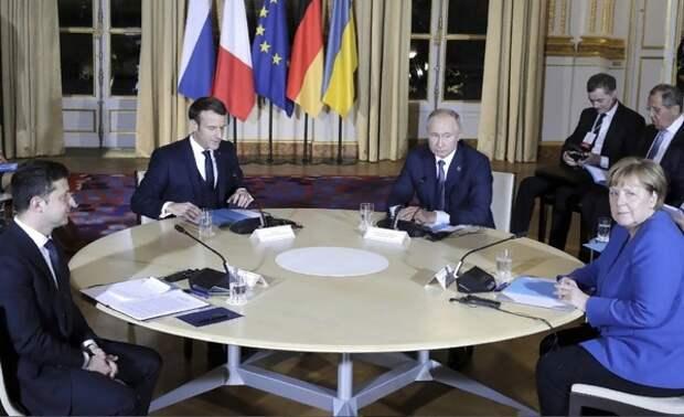 """Как прошёл и чем завершился саммит """"нормандской четвёрки"""", от которого не ждали много"""