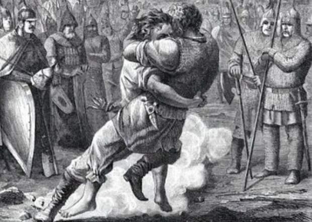 Мстислав и Редедя. Источник изображения: mirtesen.ru