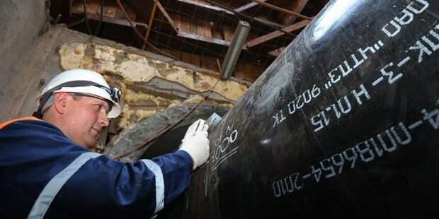 Замена газопровода на Соколе завершится к апрелю