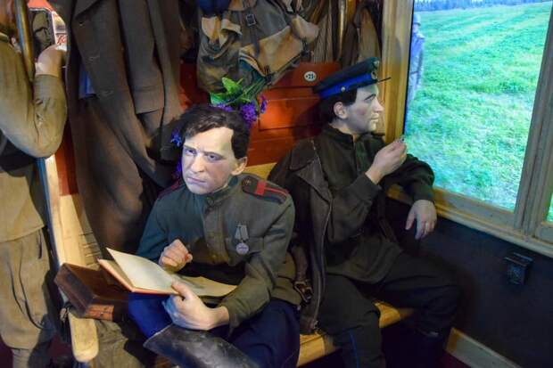 «Поезд Победы» прибыл в Евпаторию