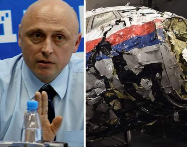 """""""Самолет взрывали необычно"""": Антипов рассказал об """"инсайде"""" по делу MH17"""
