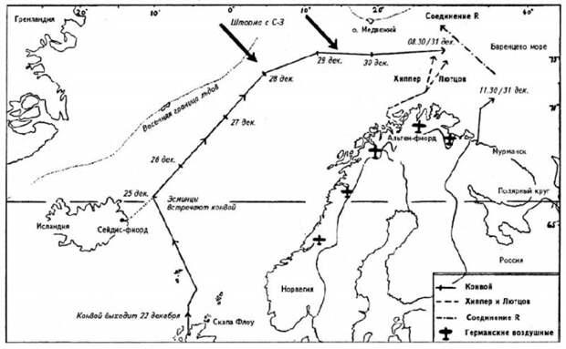 Бой в Баренцевом море. Приговор для кригсмарине