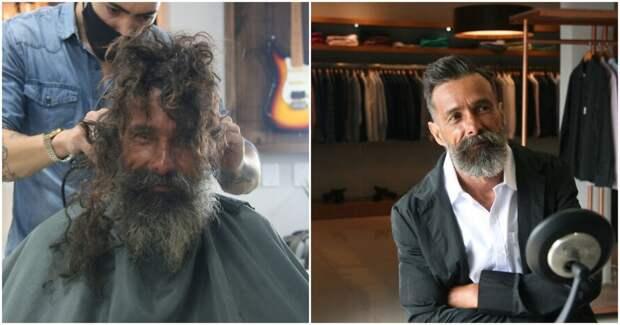 У этого человека была длинная борода, он был Бездомным, и у него была мечта…