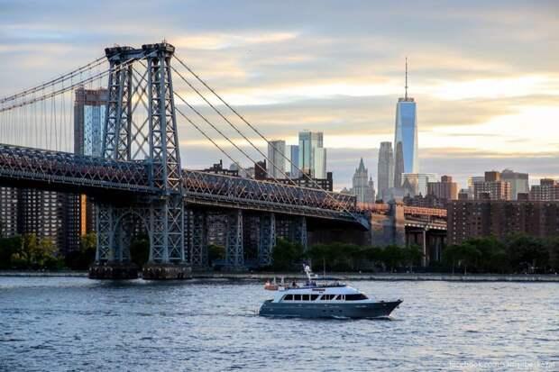 Нью-Йорк. Прогулка по новому парку «Домино» путешествия, факты, фото