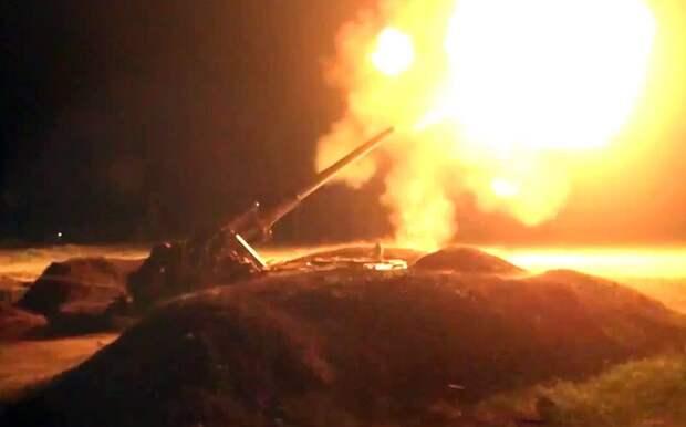 Кадры армии Карабаха: враг пошёл внаступление (ВИДЕО)