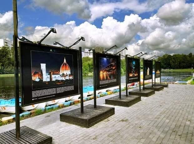 Фотовыставка «Странники в ночи» открылась в парке «Ангарские пруды»
