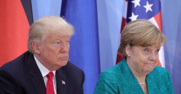 Трамп устроил разнос Меркель из-за российского газа и взносов в НАТО: Мы что, тупицы?
