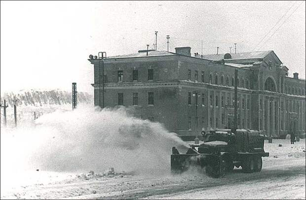 Интерсные снегоуборочные машины из СССР