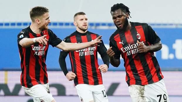 «Милан» повторил рекорд «Интера» 70-летней давности