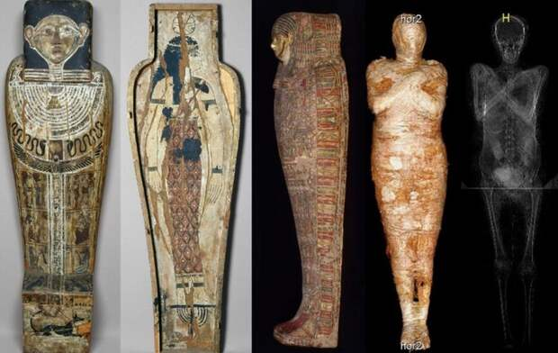 Археологи впервые обнаружили древнеегипетскую мумию беременной женщины