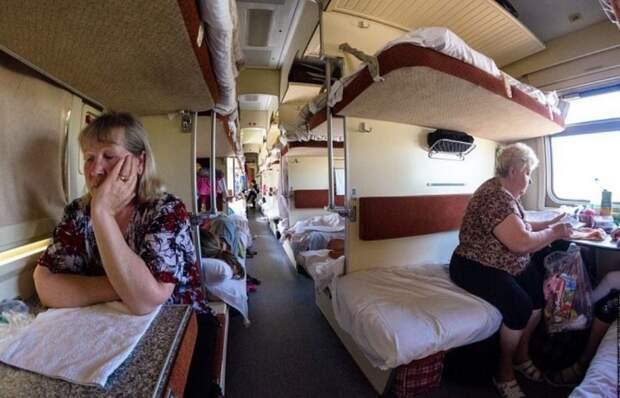 Цена плацкартных билетов в поездах РЖД на летний период резко возросла