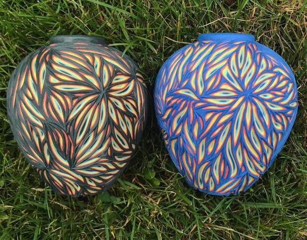 Многослойная керамика от Шона Фореста Робертса