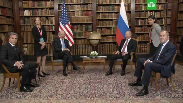 Путин перед переговорами рассмешил Байдена