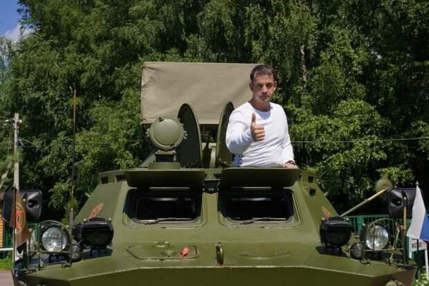 Дмитрий Певцов призывает защитить памятные места боев и сражений от застройки