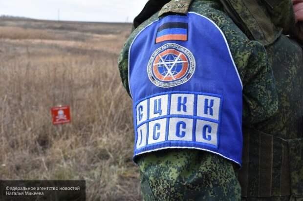 Сотрудник СЦКК получил ранение в результате снайперского огня ВСУ