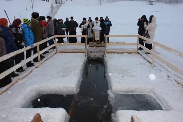 Место для крещенских купаний определили в Сарапуле