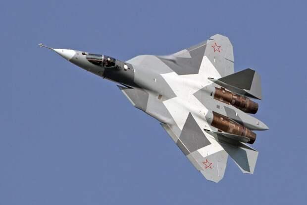 СУ-57 (Т-50 ПАК-ФА) – перспективный российский многофункциональный истребитель пятого поколения