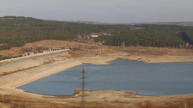 20% воды осталось в водохранилищах Крыма