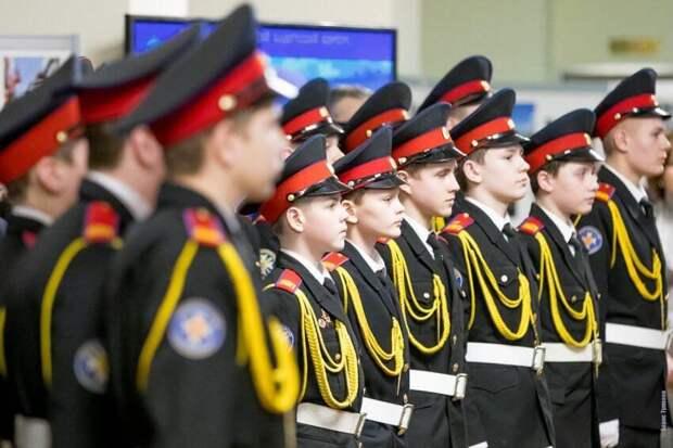 Первый Московский кадетский корпус открыл набор учащихся