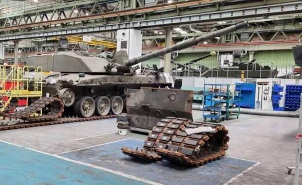 В Германии начато производство новой пушки для британских танков Challenger 3