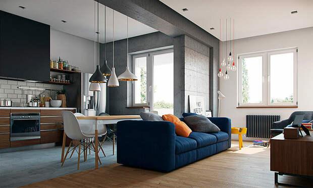 Как грамотно обустроить квартиру-студию