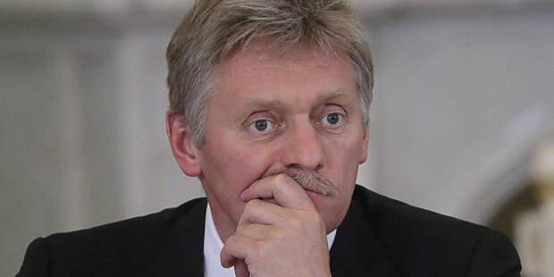 Песков рассказал о темах встречи Путина и Воробьева