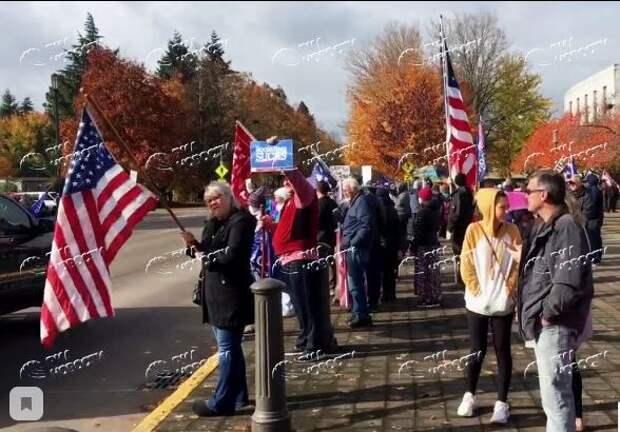 Сторонники Трампа начали акции протеста