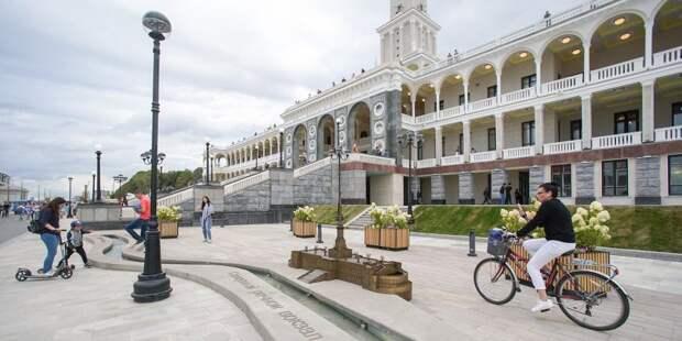 Парк Северного речного вокзала попал в годовой топ «Активного гражданина»