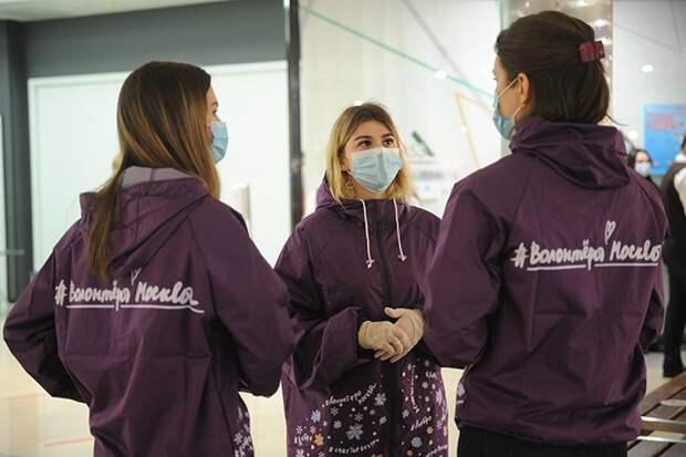Около 86 часов помощи оказали волонтеры Москве за 2021 год