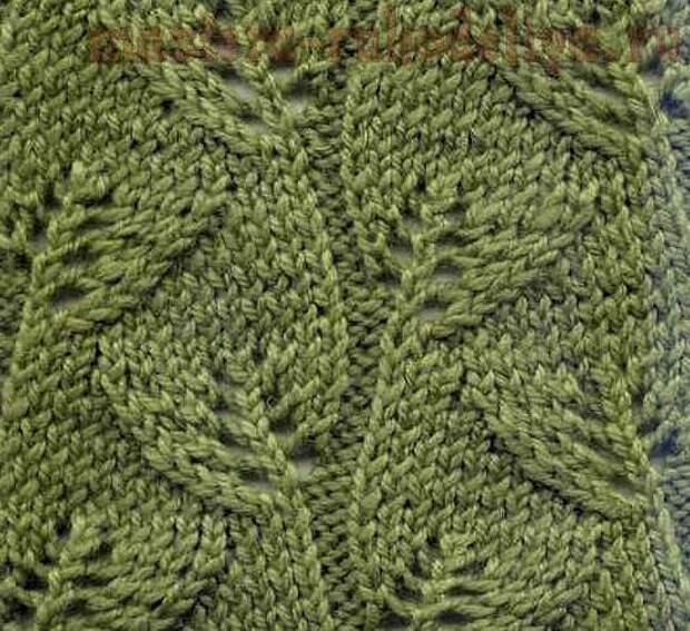 Вязание спицами: Расчет плотности вязания