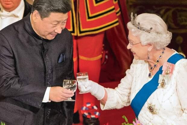 Сравните две цивилизации : Китай    vs  Англии  через  призму  привычек
