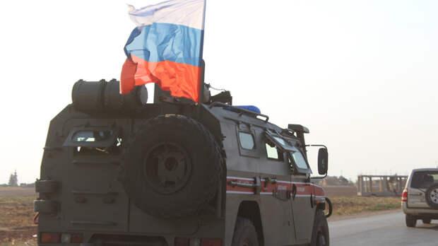 Два слова и три буквы: Русский мат помог патрулю в Сирии - видео опубликовал Соловьёв