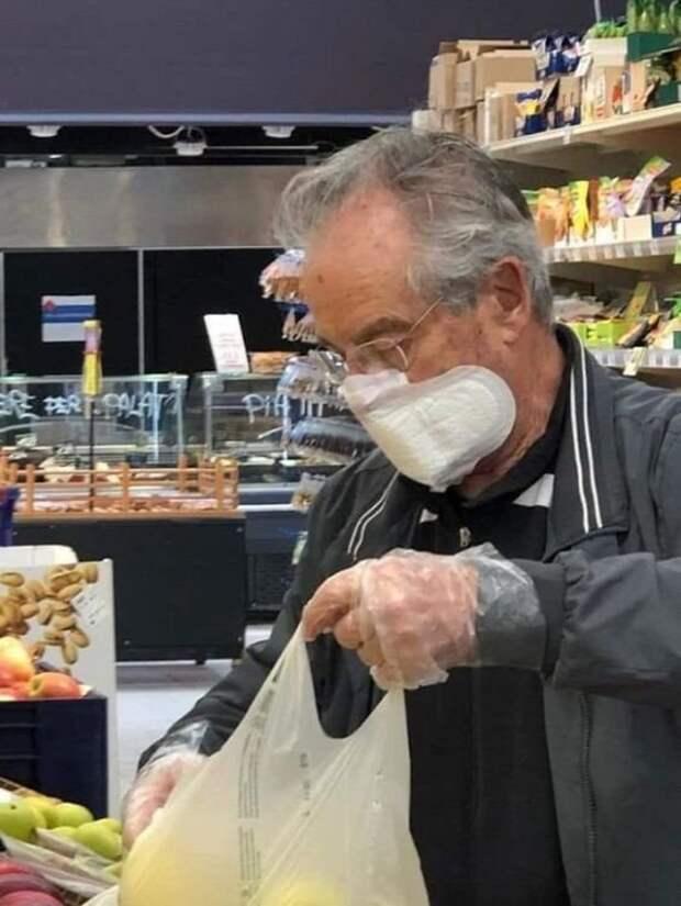 Посетители забугорных магазинов