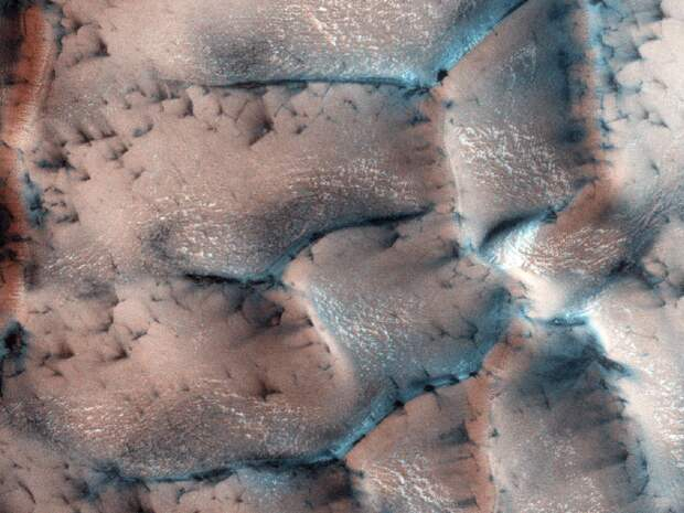 Зима на Марсе