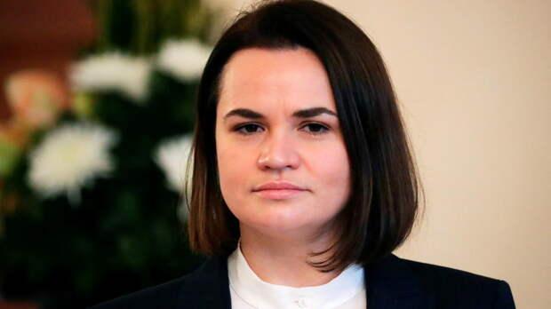 Светлана Тихановская заявила, что «не может пообещать» ввода США секторальных санкций против Минска