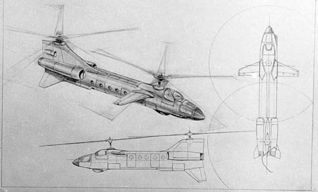 В-50. Вертолёт, который мог обогнать время