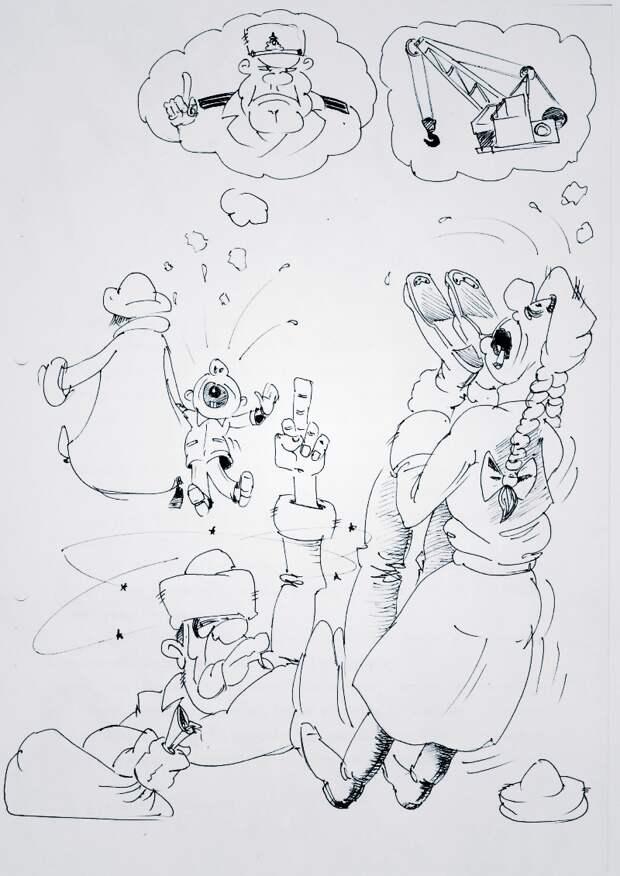 Дед Мороз ( Акулы из стали )