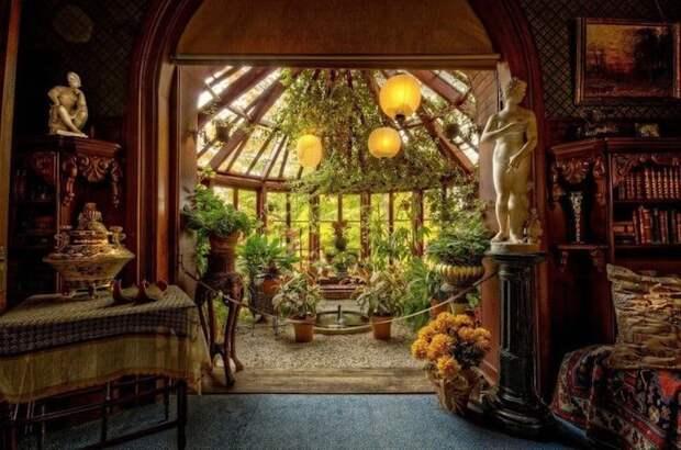 Исторический особняк Марка Твена: дом, в котором живут привидения