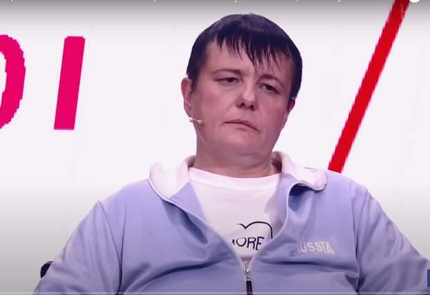 Елена Бадукина / Скриншот c эфира Первого канала