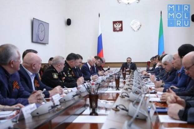 Сергей Меликов провел совещание, посвященное подготовке к военному параду ко Дню Победы