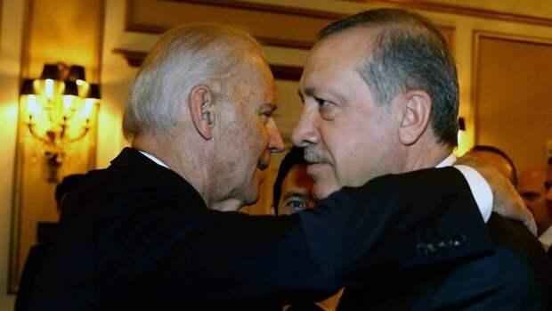 Байден впервые созвонился с Эрдоганом