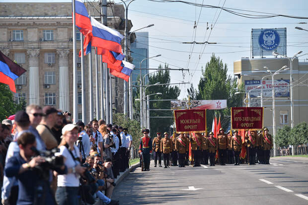 За ЛДНР закреплён статус российских регионов
