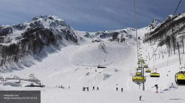 Названы лучшие горнолыжные курорты России