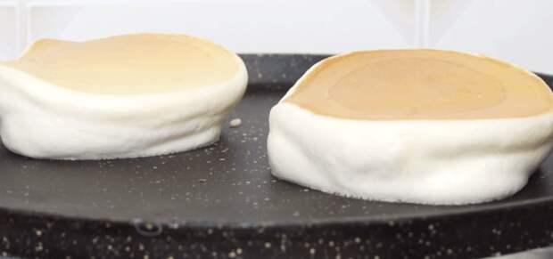 Японский рецепт невероятных блинчиков похожих на суфле на обычной сковороде