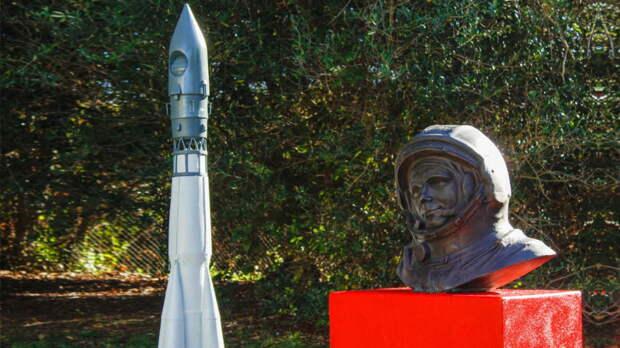 Памятник Юрию Гагарину установили в Португалии